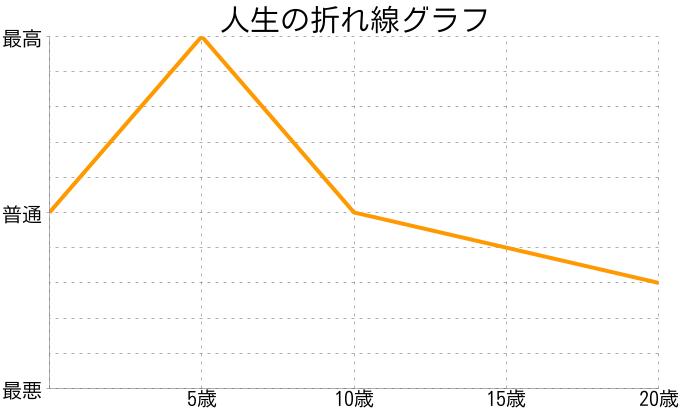 ぴさんの人生の折れ線グラフ